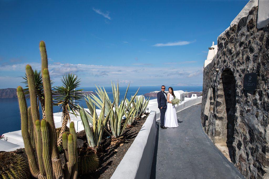 Wedding photographers Santorini