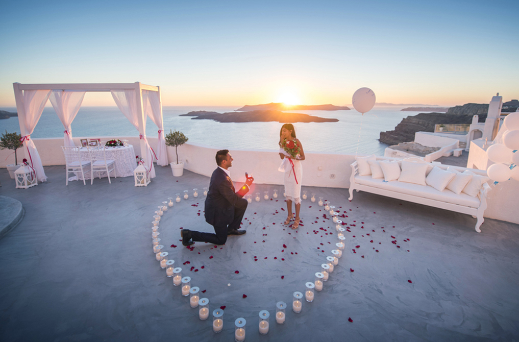 10 best santorini proposal locations