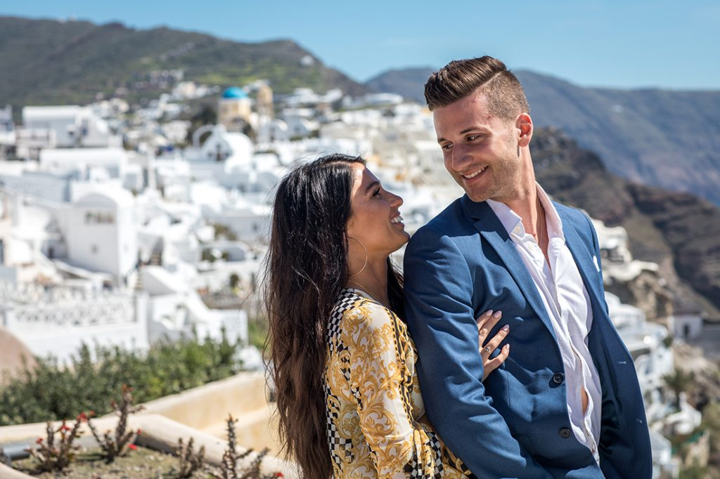 santorini proposal photographers