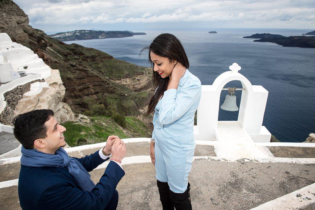 Santorini with a professional photographer